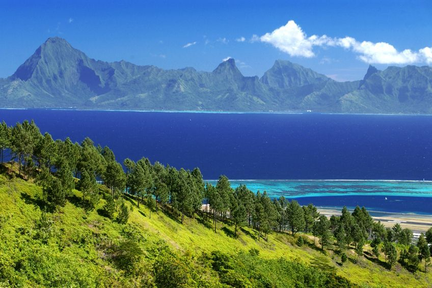 tahiti paysage