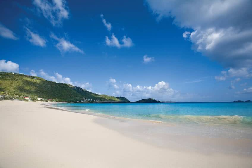 plage flamands saint barthelemy