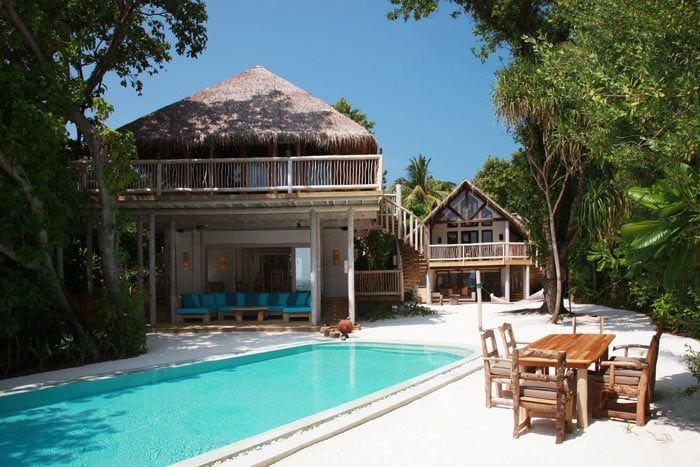 crusoe villa 2 chambres (piscine)