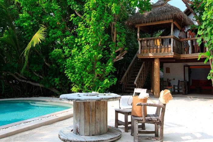 crusoe villa avec piscine