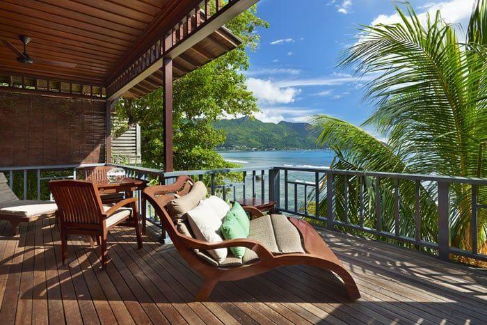 villa king front de mer