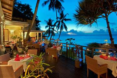 Le restaurant Les Cocotiers, une cuisine raffinée et des saveurs des quatre coins du monde...