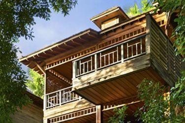 Un mélange d'architecture seychelloise et de décoration contemporaine