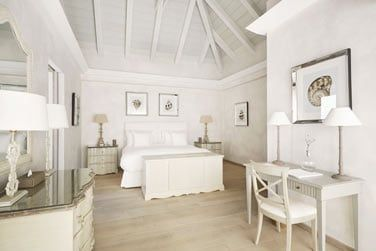 Une chambre de la Villa Flamands