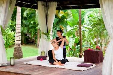 Le Spa dispose d'un pavillon de yoga