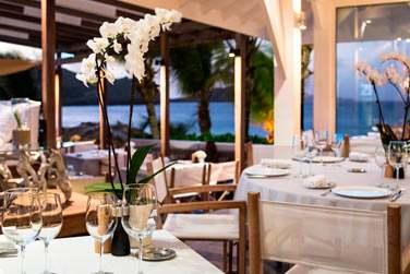 Rendez-vous à la Case de l'Isle pour un dîner en amoureux face à la mer...