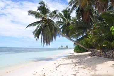 Au bord d'une très jolie plage