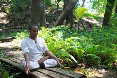 Une tranquillité propice à la méditation
