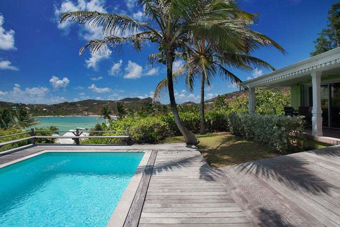 suite vue mer avec piscine privée 1 chambre