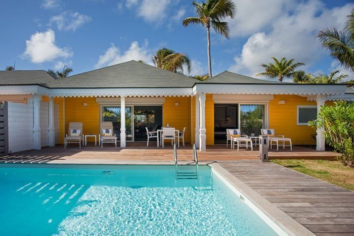 suite vue jardin avec piscine privée 1 chambre