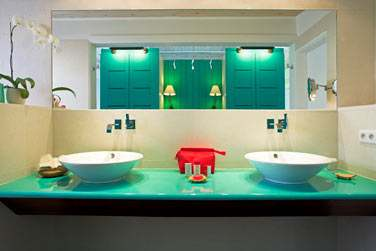 Salle de bain de la Suite Marigot