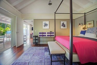 Chambre de la Suite Hibiscus