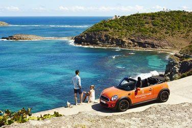 Louez une voiture pour partir à la découverte de l'île..