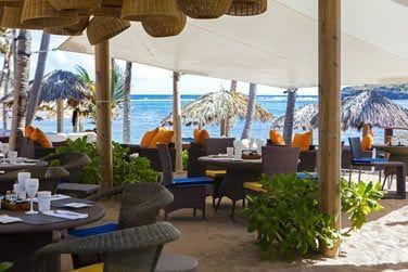 Le restaurant Indigo on the Beach