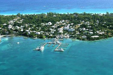 Bienvenue sur la petite île de Harbour island