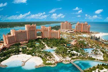 Vous pouvez également accéder aux infrastructures de l'hôtel Atlantis Paradise Island