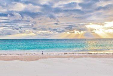 La plage est reconnue comme l'une des plus belles au monde