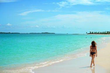 Au bord d'une plage sublime...