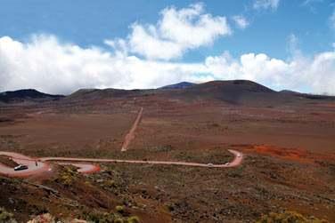 Puis, route vers le volcan et ses paysages lunaires..
