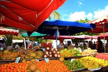 Ses couleurs, ses senteurs, les marchés de l'île sauront également vous séduire