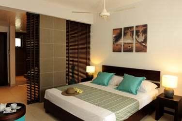 avec des Chambres confortables,aménagées dans un style moderne et épuré