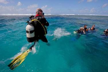 Et ne partez pas sans avoir fait la connaissance du monde sous marin de Rodrigues : Incontournable !