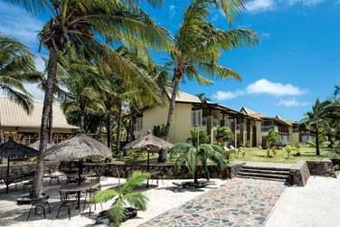 L'hôtel Cotton Bay est situé sur la côte Est de l'ile