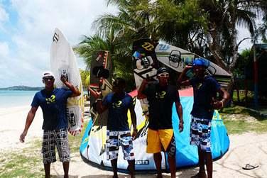 Les différents centres de kitesurf sur place seront là pour vous guider