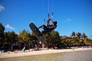 Rodrigues c'est récemment installé sur la carte du monde du Kite Surf