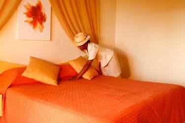 La décoration des chambres ..
