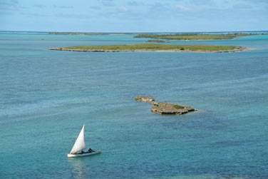 L'île Rodrigues offre un spot de kitesurf mondialement connu...