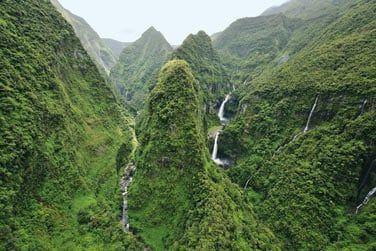 Parcourez le cirque de Salazie à la découverte des nombreuses cascades et autres chutes d'eau vertigineuses