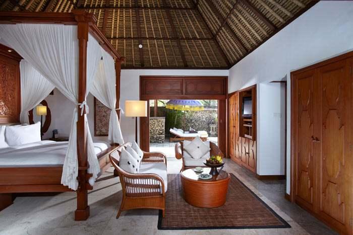 luxury villa vue jardin