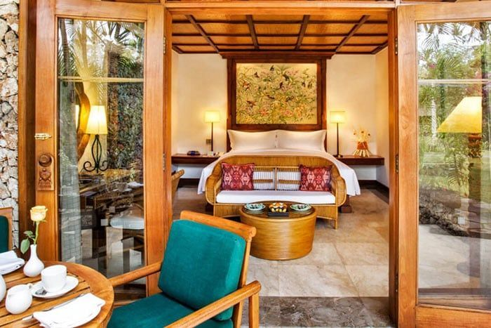 chambre luxury lanai vue jardin