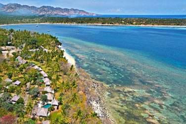 A Lombok, découvrez une île sauvage et authentique aux plages de sable blanc à couper le souffle...