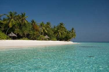 L'hôtel Coco Palm Dhuni Kolhu, un lieu intime et magique, l'océan Indien à perte de vue...