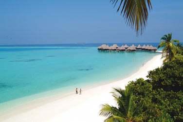 Vous séjournez en amoureux aux Maldives ? Les occasions de vous retrouver en tête à tête ne manquent pas...