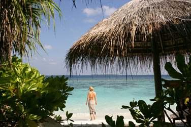 La Deluxe Beach Villa est à quelques pas seulement de la plage