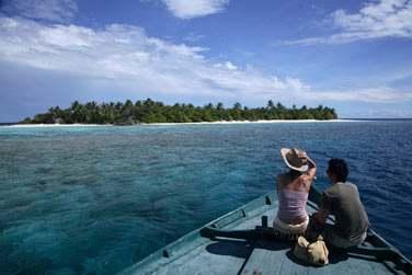 Découvrez l'excursion sur une île déserte !