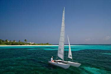 Les activités nautiques ne manquent pas à l'hôtel Coco Palm Dhuni Kolhu !