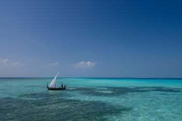 Ou une sortie à bord d'un dhoni, embarcation traditionnelle maldivienne...