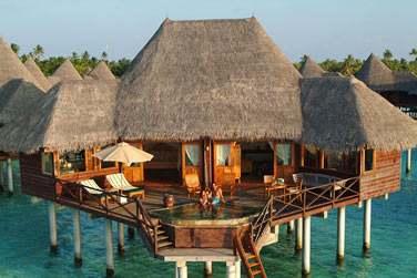 Une Sunset Lagoon Villa, spacieuse, confortable. Intimité garantie