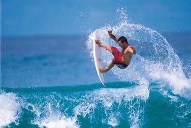 Bali, assurément le paradis des surfeurs...