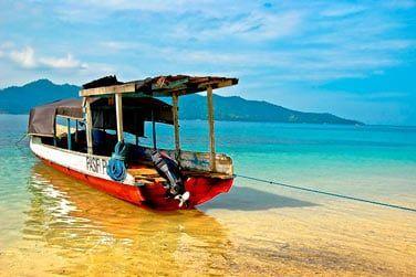 et les bateaux de pêcheurs traditionnels...