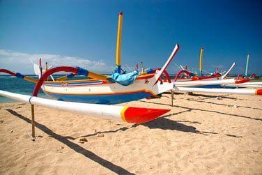 A la fin de votre séjour, découvrez les belles plages balinaises...