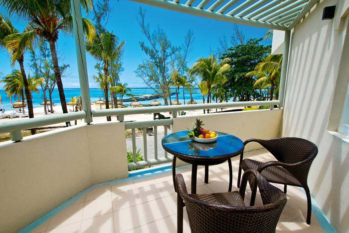 chambre deluxe vue océan avec balcon ou terrasse