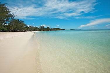 La célèbre plage de Belle Mare...