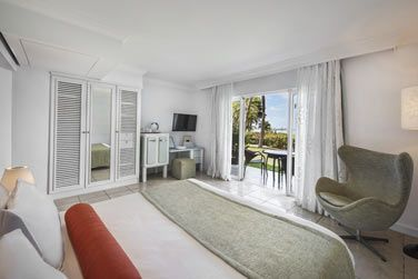 La chambre Deluxe vue océan avec balcon ou terrasse
