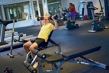 Le centre de fitness pour les plus courageux