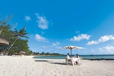 Ou les pieds dans le sable pour bien commencer la journée !